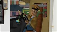 Trevor's new bus interior