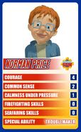 Norman Character card