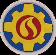 Pontypandy Fire Service logo (2016-Present)