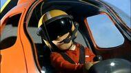 Tom piloting Wallaby 1 (April 12 2005) (2)