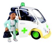 Nurse Flood and her car (Series 5)