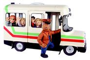 Trevor, his bus, Sarah, James, Mandy and Norman (Series 5)