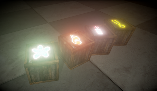 Selection of Firework Crates