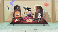 Clamantha with her bandmates.png