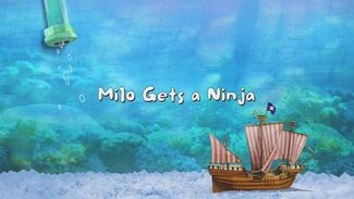 Click here to view more images from Milo Gets a Ninja.