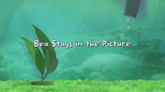 Click here to view more images from Bea Stays in the Picture.