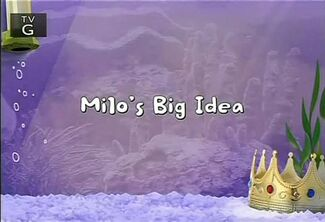 Click here to view more images from Milo's Big Idea.
