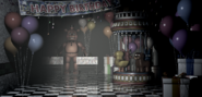 Toy Freddy in the Game Area