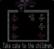 Take cake to the children