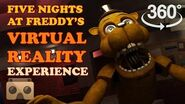 Five Nights At Freddy's Virtual Reality Experience 360