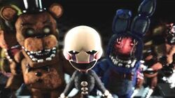 """FNAF PUPPET SONG FEMALE """"Save Me"""" (Animated)"""