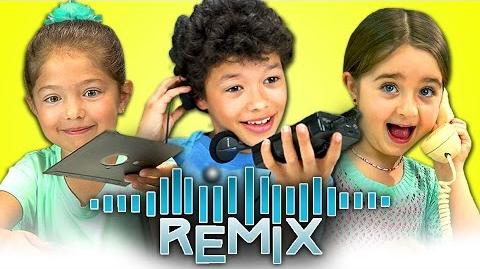 REACT REMIX - Old Computers, Walkmans, Rotary Phones-1