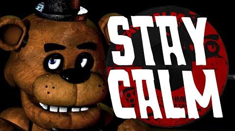 """""""STAY CALM"""" - FIVE NIGHTS AT FREDDY'S SONG FNAF (original)"""