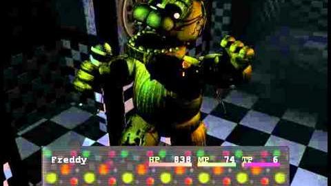 "Phantom Freddy ""Boss fight"""