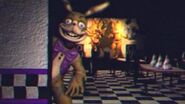 Glitchtrap Luring Murdering Tape in Fredbear Family Diner - Five Nights at Freddy's Help Wanted