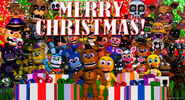 FNAF World Christmas