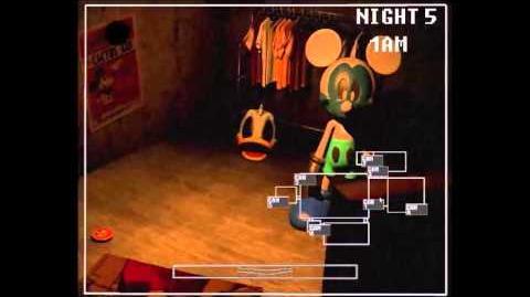 Original Five Nights at Treasure Island lets test Night 5
