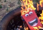 Burning Happy Meal