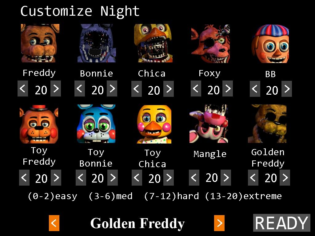 Night 20   Five Nights At Freddy's Wiki   Fandom