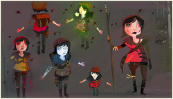Scout characters