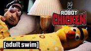 Bert and Ernie get a new roommate Robot Chicken Adult Swim