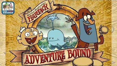 The Marvelous Misadventures of Flapjack Adventure Bound (Cartoon Network Games)