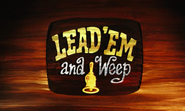 Lead 'Em and Weep card