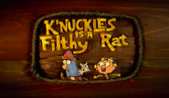 K'nuckles is a Filthy Rat card