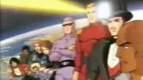 DEFENDERS OF THE EARTH Cartoon Intro