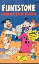 Flintstone Family Fun Book - Book Cover