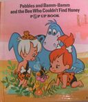 Pebbles and Bamm-Bamm and the Bee Who Couldn't Find Honey - Book Cover