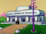 The Flintstones - Loyal Order of Dinosaurs Lodge from The Golf Champion
