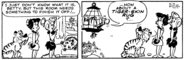 The Flintstones Daily Comic Strip - Dec. 6, 1978