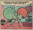 Gazoo adopting Earth customs - Great Gazoo issue 14