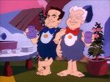 Bill Hanna and Joe Barbera in I-Yabba Dabba Do!