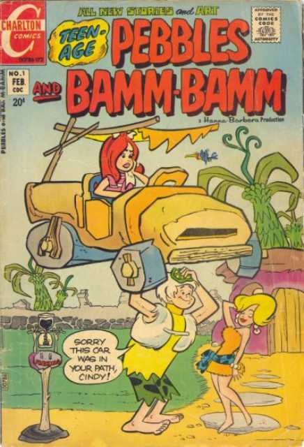 Pebbles and Bamm-Bamm (Charlton Comics)