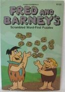 Fred and Barney's Scrambled Word Find Puzzles - Book Cover