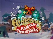 A Flintstone Family Christmas - Title Card