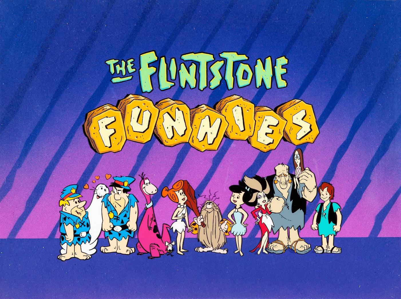 The Flintstone Funnies