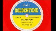 Original TV Voices 'Meet The Flintstones and Rise And Shine' 1962 78 rpm