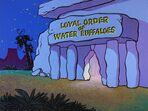 The Flintstones - Water Buffalo Lodge from The Hero