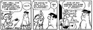 The Flintstones Daily Comic Strip - Dec. 9, 1978