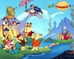 Flintstones golf promo