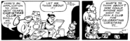 The Flintstones Daily Comic Strip - Dec. 13, 1978