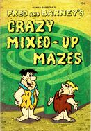 Fred and Barney's Crazy Mixed Up Mazes - Book Cover