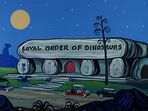 The Flintstones - Loyal Order of Dinosaurs Lodge from Rooms for Rent