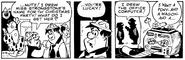 The Flintstones Daily Comic Strip - Dec. 15, 1978