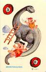 The Flintstones Ed-U-Card - Brontosaurus