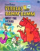 The Flintstones Meet the Lizard King coloring book