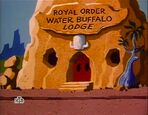 The Flintstone Comedy Hour - Water Buffalo Lodge from The Reluctant Candidate